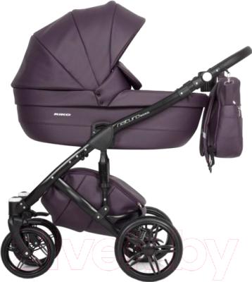 2e3ce1c15 Riko Naturo Ecco 2 в 1 (01/plum) Детская универсальная коляска ...