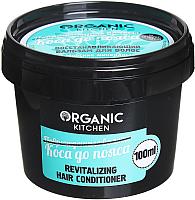 Бальзам для волос Organic Kitchen Коса до пояса восстанавливающий (100мл) -