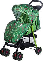 Детская прогулочная коляска Babyhit Simpy (green bubbles) -
