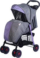 Детская прогулочная коляска Babyhit Simpy (purple grey linen) -