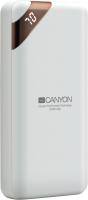 Портативное зарядное устройство Canyon CNE-CPBP20W (белый) -