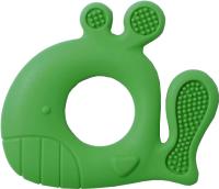 Прорезыватель для зубов BabyOno Силиконовый Кит / 935/02 (зеленый) -