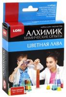Набор для опытов Lori Химические опыты. Лава красная / Оп-003 -