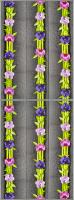 Экран-дверка Comfort Alumin Орхидея 83x200 -