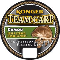 Леска монофильная Konger Team Carp Camou 0.28мм 1000м / 227001028 -