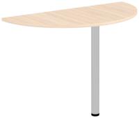 Стол-приставка Уют Сервис Гарун 780.0 (молочный дуб) -