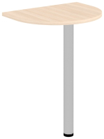 Стол-приставка Уют Сервис Гарун 781.0 (молочный дуб) -