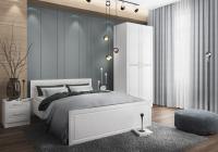 Комплект мебели для спальни ДСВ Diamante 10 1.4 (белый) -