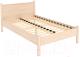 Полуторная кровать Уют Сервис Гарун 613 (молочный дуб) -