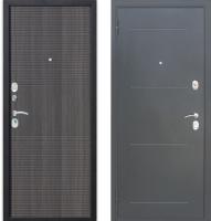Входная дверь Гарда Муар 10мм Венге тобакко (86x205, левая) -