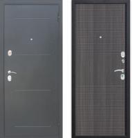 Входная дверь Гарда Муар 10мм Венге тобакко (86x205, правая) -