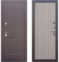 Входная дверь Гарда Isoterma Лиственница мокко (96x205, правая) -
