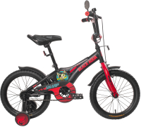 Детский велосипед Black Aqua Sharp 16 2017 KG1610 (хаки/оранжевый) -