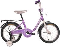 Детский велосипед Black Aqua DK-1603 (сиреневый) -
