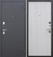 Входная дверь Гарда Муар 8мм Белый ясень (96x205, правая) -