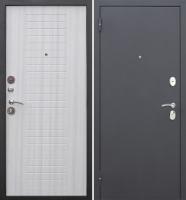 Входная дверь Гарда Муар 8мм Белый ясень (96x205, левая) -
