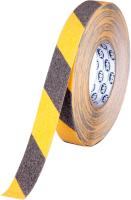 Скотч противоскользящий HPX Safety Grip / SY2518 (черный/желтый) -