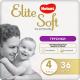 Подгузники-трусики Huggies Elite Soft Platinum 4 (36шт) -