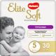 Подгузники-трусики Huggies Elite Soft Platinum 5 (30шт) -