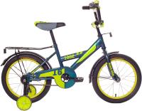 Детский велосипед Black Aqua DD-1602 (морская волна) -