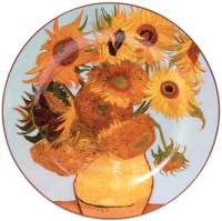 Тарелка закусочная (десертная) Белбогемия Ван Гог. Подсолнухи RN10092-Z039 / 86266 -