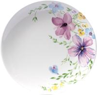 Тарелка столовая мелкая Белбогемия Соната. Фрезия 060 / 89455 -