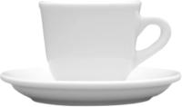 Чашка с блюдцем Lubiana Nowa 1970 -