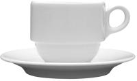 Чашка с блюдцем Lubiana Wersal 2206 -