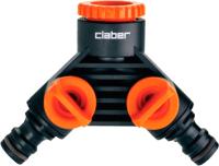 Разветвитель для шланга Claber 8599 (блистер) -