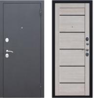 Входная дверь Юркас Гарда Муар Царга 6мм Лиственница мокко (96x205, правая) -