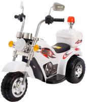 Детский мотоцикл Sima-Land Чоппер / 4650205 (белый) -