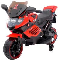 Детский мотоцикл Sima-Land Спортбайк / 4650202 (красный) -