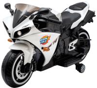 Детский мотоцикл Sima-Land Супербайк / 4650201 (белый) -