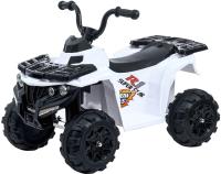 Детский квадроцикл Sima-Land Квадрик / 4650191 (белый) -