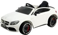 Детский автомобиль Sima-Land Mercedes-Benz C63 S AMG / 4351837 (белый) -