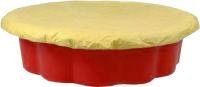 Песочница-бассейн Zebra Toys Ракушка с тентом / 3391195 (красный) -