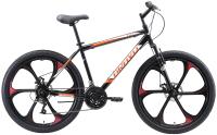 Велосипед Bravo Hit 26 D FW 2020 (20, черный/оранжевый/белый) -