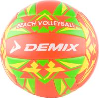 Мяч волейбольный Demix VMPVCTR-EU (размер 5, оранжевый/зеленый) -
