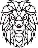 Декор настенный EWA Лев -