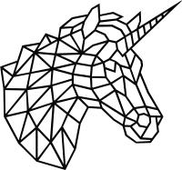 Декор настенный EWA Единорог -
