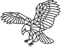 Декор настенный EWA Орел -