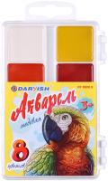 Акварельные краски Darvish Попугай / DV-11078-8 -