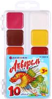 Акварельные краски Darvish Рыба / DV-11080-10 -