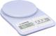Кухонные весы Lumme LU-1345 (светлый аквамарин) -