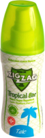 Спрей от насекомых ZIG ZAG Tropical репеллент тальк (100мл) -