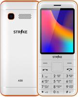 Мобильный телефон Strike A30 (белый/оранжевый) -