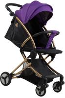 Детская прогулочная коляска Aimile Summer Gold / FPG-1 (фиолетовый/черный) -