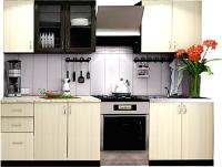 Готовая кухня Ricco Катя-3 2.0 (венге/дуб атланта) -