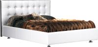 Двуспальная кровать ФорестДекоГрупп Софи-2 200x180 (белый) -
