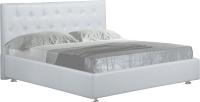 Двуспальная кровать ФорестДекоГрупп Софи-3 200x180 (белый) -